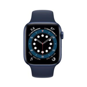 Apple Watch Series 6 40MM Blue Aluminum Case with Sport Band