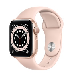 Apple Watch Series 6 40MM Gold Aluminum Case with Sport Band